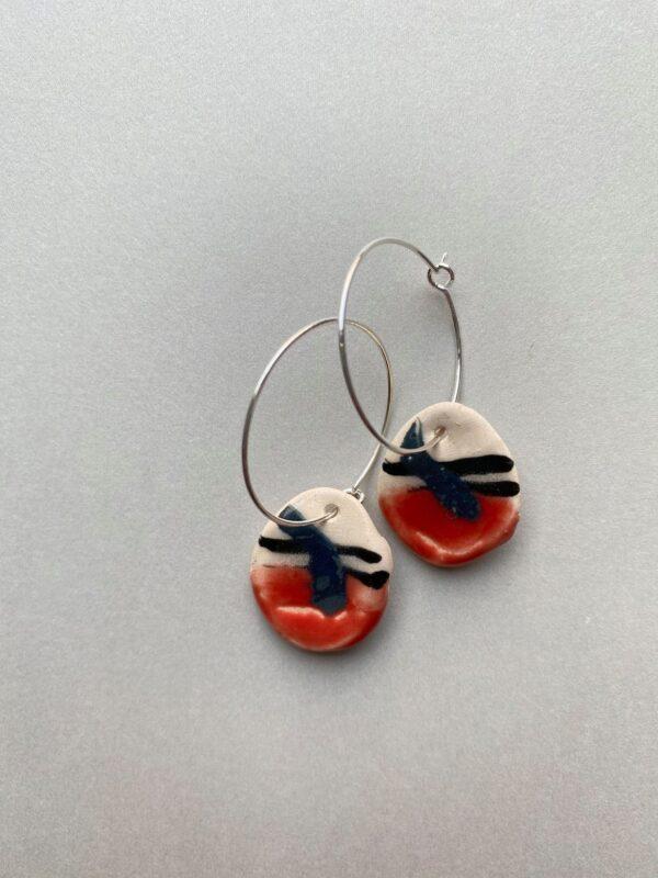 Stripe earrings